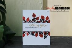 #itssimplyhandmade#handmadecards#greetingsarscards#anniversarycards
