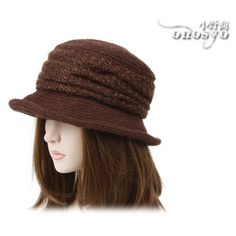 knit hats for women | Warm Knit Winter Chapeau Bucket Women hat | Onosyo Hats