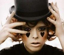 costume inspiration #makeup #circus #top hat