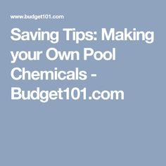 Adding chemicals to your pool and spa can get expensive rather quickly! Here are some common household items you can use to maintain a sparkly clean pool Pool Cleaning Tips, Cleaning Hacks, Pool Float Storage, Homemade Pools, Pool Chemicals, Pool Supplies, Summer Pool, Saving Tips, Make Your Own