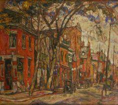 Abraham Manievich - Napolean Street, Montreal