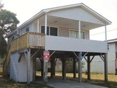 WHITE | Kill Devil Hills Rentals | Outer Banks Vacation Rentals | Outer Banks Rentals Soundside -- Small, dated 2 bdrm rental for cheap $760 + tax, linens??, Sunday turnover