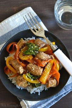 This Chinese Chicken Stir-Fry with Vegetables is the quickest and easiest way to get a nutritious meal on the table in under 30 minutes. Chicken Stir Fry Sauce, Chicken Vegetable Stir Fry, Veggie Stir Fry, Chicken Spices, Chicken And Vegetables, Vegetable Dishes, Chicken Stovetop, Bbc Good Food Recipes, Dairy Free Recipes
