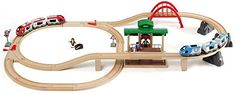 BRIO 33512 - Circuito tren de madera con paradas de pasajeros, IndalChess.com Tienda de juguetes online y juegos de jardin