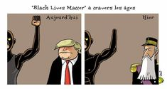 Nicolas Vadot (2020-06-10) USA  : racism, George Floyd,  Black Lives Matter ÷÷÷  L'Echo du 11 juin 2020. Caricatures, Family Guy, Age, Guys, Fictional Characters, Black, Human Rights, Politics, Black People