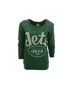 Men's New York Jets Junk Food Black Option Play Front & Back Hit Full Zip Hoodie