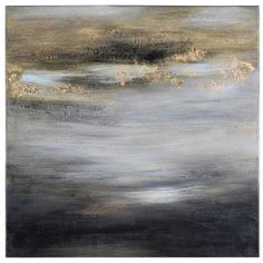 Ren-Wil Golden Horizons by Liza Stones Painting Print on Canvas