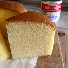 My Mind Patch: Condensed Milk Cotton Cake 炼乳棉花蛋糕 (If I can figure out all the measurements I may try this. The cake is beautiful!)