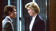 The Secret of my Success - Helen Slater, Michael J. Fox 80s yuppie fashion