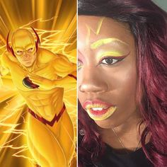 Reverse Flash makeup details in previous post by kaymariemakeup Reverse Flash, Ombre Lips, Shooting Stars, Morphe, Scrapbooking Ideas, Makeup Junkie, Mac Cosmetics, Detail, Instagram Posts