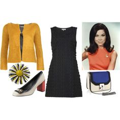 '60s by kiteshop on Polyvore featuring kew.159, Diane Von Furstenberg and Tory Burch