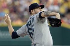 James Paxton of the Seattle Mariners pitches against the Detroit...