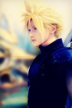 Cloud Strife. Final Fantasy VII.