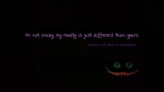 i'm not crazy my reality - Google-haku
