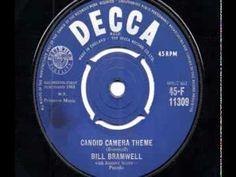 Bill Bramwell - Candid Camera Theme - 1960 45rpm