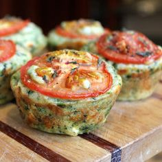 Food Lust People Love: Cheesy Spinach Muffins for #MuffinMonday