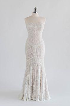 Pippin jersey white long dress