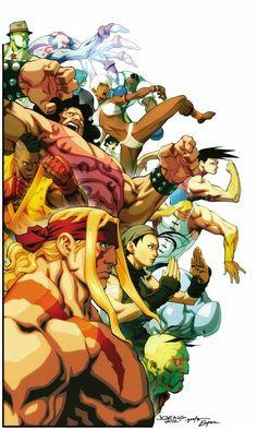 "comicsforever: ""Street Fighter III: Third Strike // artwork by Joe Ng and Espen Grudetjern "" Street Fighter 3rd Strike, Street Fighter Game, Capcom Street Fighter, Street Fighter Characters, Street Fighter Alpha 3, Manga Anime, Art Anime, Akira, Arcade"