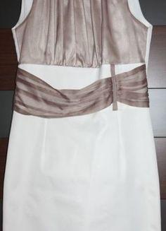 Kup mój przedmiot na #vintedpl http://www.vinted.pl/damska-odziez/sukienki-wieczorowe/8890410-elegancka-biala-sukienka-ze-wstawkami-manifesto-rozmiar-40