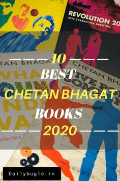 - One Indian Girl- The Girl in Room Half Girlfriend- 2 States - The 3 Mistakes of my life - Five Point Someone. New Books, Good Books, Books To Read, Movie 3 Idiots, Chetan Bhagat Books, Corruption In India, Half Girlfriend, Delhi Girls, English Writers