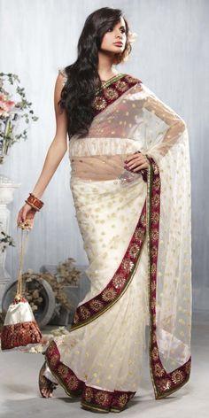 White Saree.. My favourite