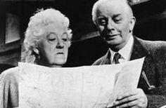 Miss Marple, Margaret Rutherford and Stringer Davis Margaret Rutherford, Agatha Christie, Mrs Marple, Detective, Hercule Poirot, Best Mysteries, Movie Stars, Thriller, Movie Tv