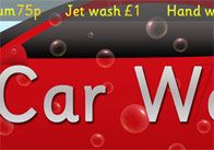 Car Wash sign thumb Car Wash Role Play Poster