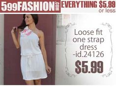 """599fashion.com - Everything $5.99 or Less Check out this weeks """"5 Favorite Picks"""" http://www.599fashion.com/Picks-of-the-Week_c_511.html"""