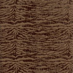 Novice Walnut Brown Chenille Animal Print Upholstery Fabric   SW48076   Discount  Fabrics