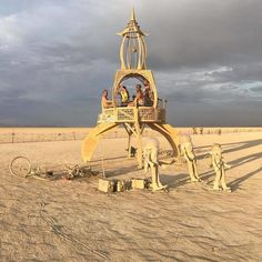 50+ Epic Photos From Burning Man 2017 That Prove It's The Craziest Festival In The World