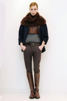 Brunello Cucinelli Fall 2013 RTW Collection - Fashion on TheCut