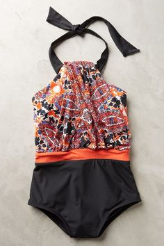#anthrofave Twist-Front Maillot - anthropologie.com