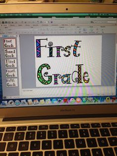 Using Alphabet Clip Art to Make Anchor Charts or Posters