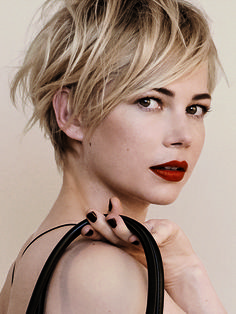 Hair Envy: Michelle Williams for Louis Vuitton A/W