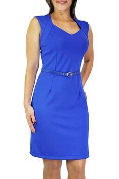 vestidos tubinho azul 1