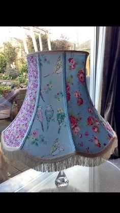 Serendipity Chic Handmade standard lampshade.