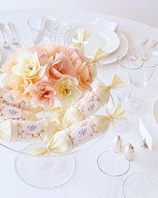 Favor Centerpieces: Fancy Candy | Martha Stewart Weddings
