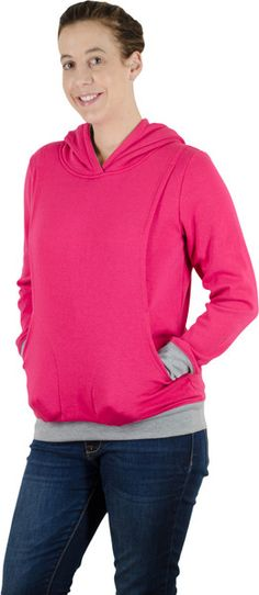 68d776cb415b0 The Latched Mama Hoodies - great nursing clothes! Breastfeeding Clothes