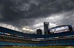 Bank of America Stadium. Home of the Carolina Panthers.