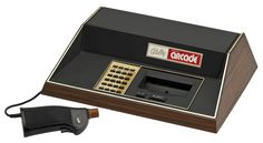 The Bally Astrocade videogame console.