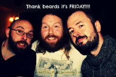 #Friday #Beards Thought Provoking, Beards, Thats Not My, Writer, Friday, Singer, Album, Couple Photos, Fictional Characters