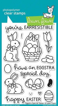 LAWN FAWN: Eggstra Special Easter
