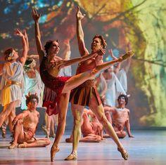 Oksana Skorik and Matt Golding # Dance Open Ballet Festival 2016 at The Alexandrinsky Theatre , Saint - Petersburg, Russia # Photo © Stas Levshin