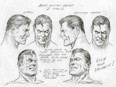 Alex Ross- Superman faces, in Sal Abbinanti's 'ALEX ROSS -Spring ...