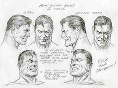 Alex Ross- Superman faces, in Sal Abbinanti's 'ALEX ROSS -Spring ...