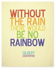 Rain And Rainbow #quotes, #pinsland, apps.facebook.com...