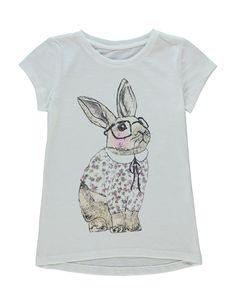 Bunny T-shirt | Girls | George at ASDA