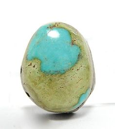 Arizona Turquoise Natural Stone Cabochon 10 by FenderMinerals