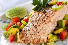 Receita de Salmão ao suco de laranja em receitas de peixes, veja essa e outras receitas aqui!