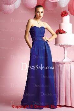 Graceful Sweetheart Neckline Floor-Length Gown for Evening